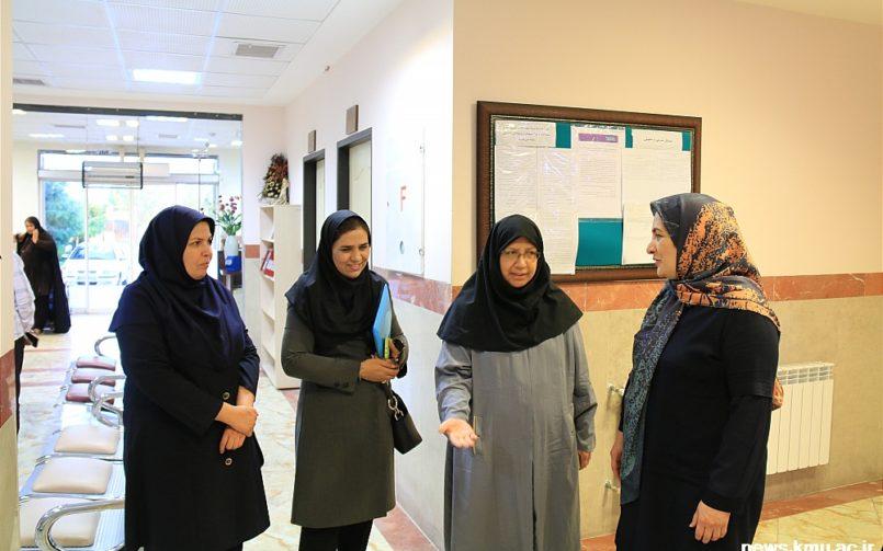 بازدید از مرکز درمان ناباروری نجمیه